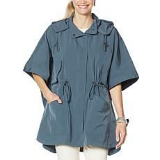WynneLayers Hooded Poncho Jacket