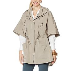 WynneLayers Hooded Poncho Jacket