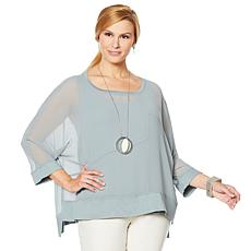 WynneLayers Mixed Direction Top
