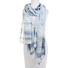WynneLayers Mixed Print Chiffon Scarf