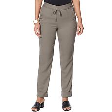 WynneLayers Pull-On Cuffed Ankle Pant