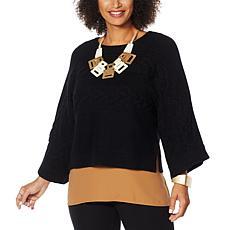 WynneLayers Soft Knit Cropped Sweater