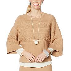 WynneLayers SoftKNIT Cropped Sweater