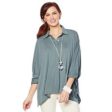WynneLayers Washed Modal Unstructured Shirt
