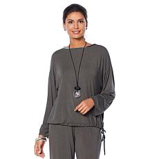 WynneLounge Drawstring Top