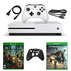 Xbox One S 1 TB Naked Console with Diablo III: Eternal Collection S...