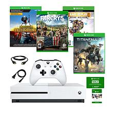Xbox One S 1TB 4K Console with 4 Xbox Games