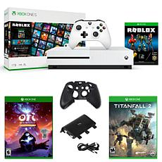 Xbox One S 1TB Roblox Console with Titanfall 2, Ori and The Blind F...