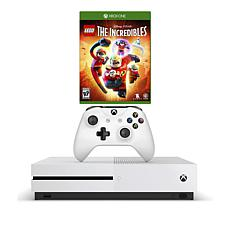 "Xbox One S 4K 1TB Game Console with ""Lego: The Incredibles"" Game"