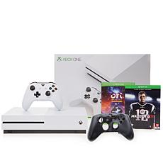 "Xbox One S 500GB 4K Madden NFL '18 Console w/""Ori & the Blind Forest"""