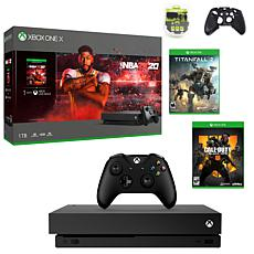 Xbox One X 1TB NBA 2K20 with Titanfall 2 and Call of Duty