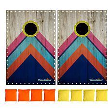 YardCandy by PoolCandy Deluxe LED Illuminated Cornhole Set