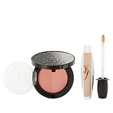 ybf Blushing Duo & Creme Brulee Lip Gloss - Peach