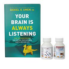 Your Brain Is Always Listening Book Kit w/ALC 500 & Vitamin D3-2000