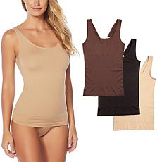 Yummie 3-pack Seamless 2-Way Shaping Tank
