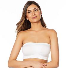 Yummie Seamless Bandeau Bra with Removable Pads