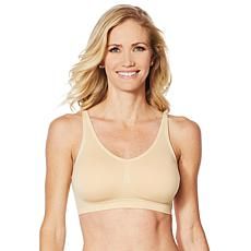 Yummie Seamless Convertible Halter Bra  with Removable Pads