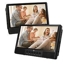"Z-Edge 10.1"" Dual Screen Portable DVD Player"