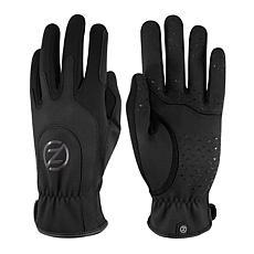 Zero Friction Women's Universal-Fit Activewear Gloves 1-Pair, Grey