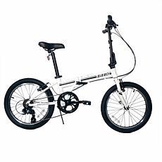 Zizzo Campo 7-speed Aluminum Folding Bike