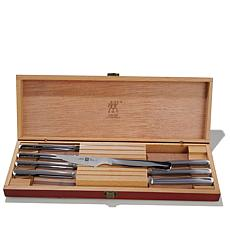 ZWILLING J.A. Henckels Twin 8pc Steak Knife Set w/Case