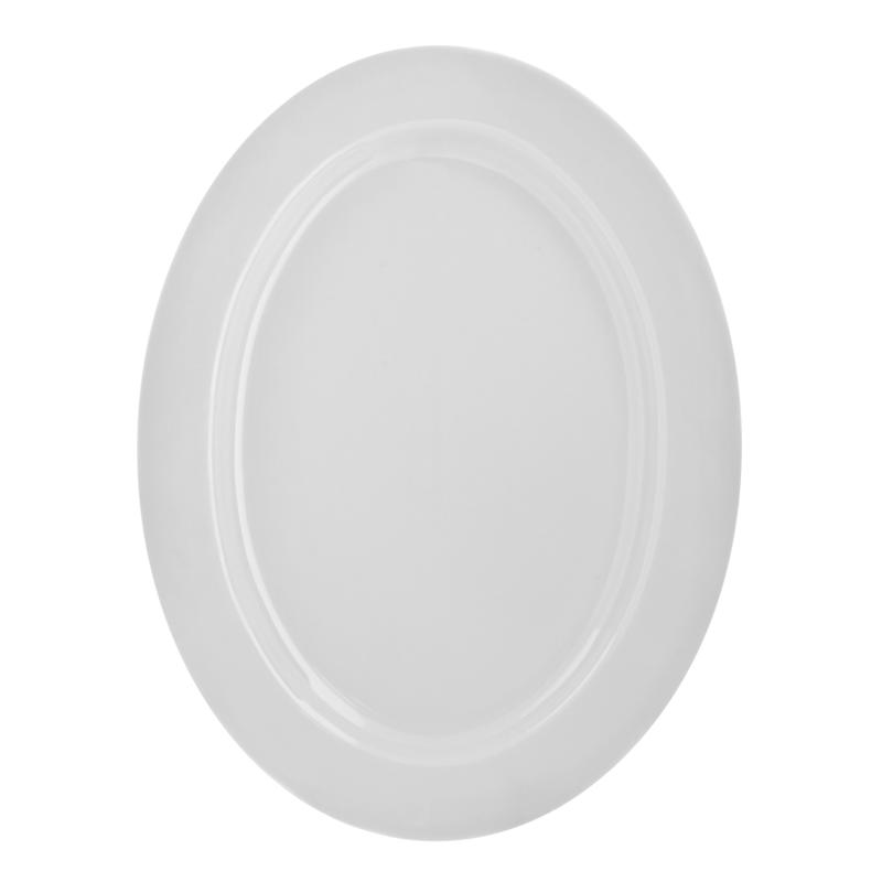 "10 Strawberry St White 14.5"" x 11"" Platters - Set of 2"