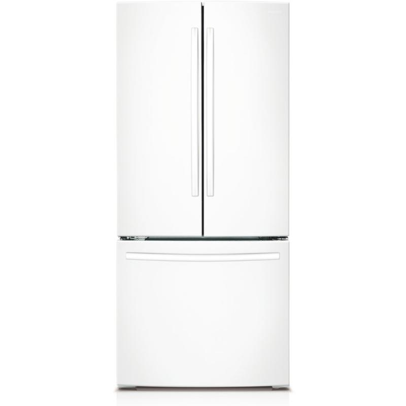 22 Cu. Ft. 30 Inch French Door Refrigerator  White