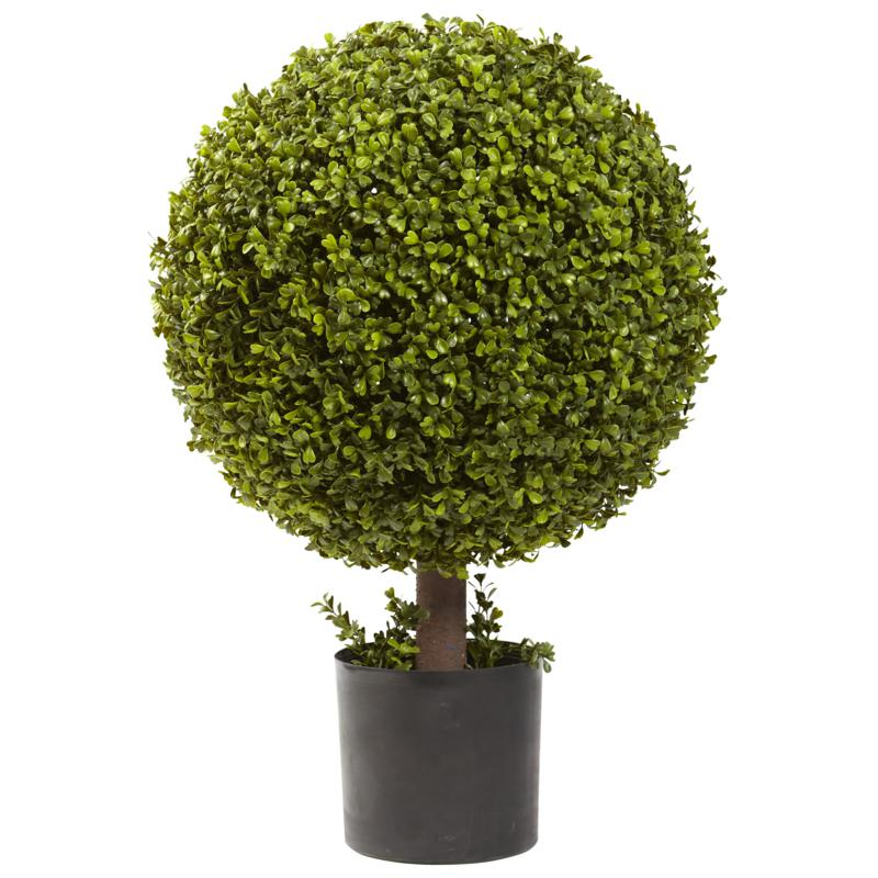 27 in. Boxwood Ball Topiary