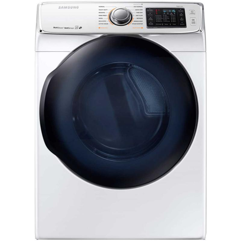 7500 Series 7.5 Cu. Ft. Gas Dryer- White
