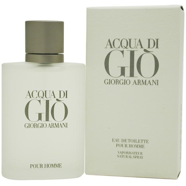 Acqua Di Gio by Giorgio Armani - Spray for Men 6.7 oz.