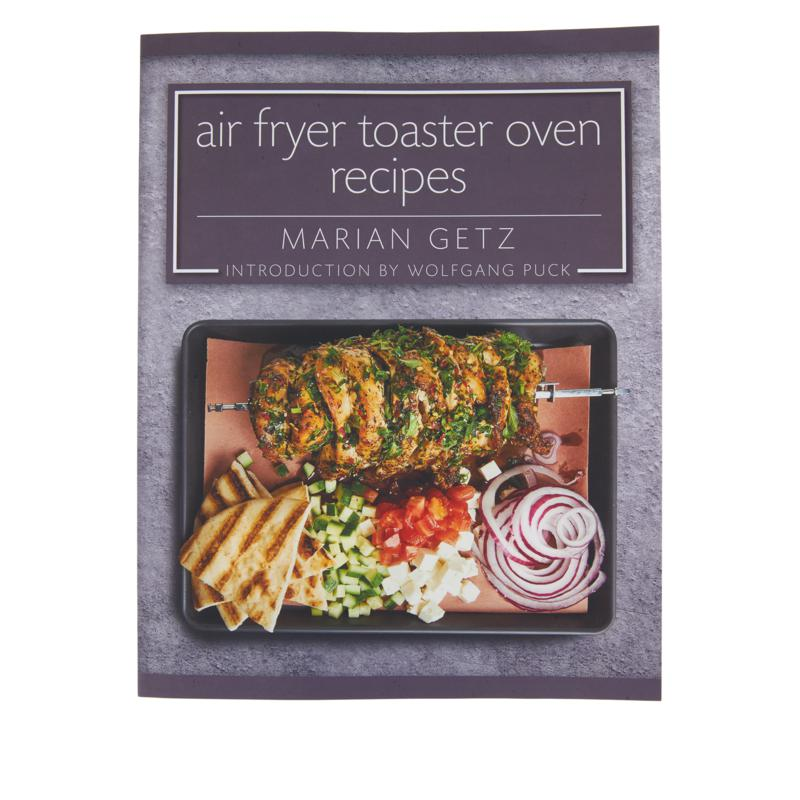 """""""Air Fryer Toaster Oven Recipes"""" Cookbook by Marian Getz"""