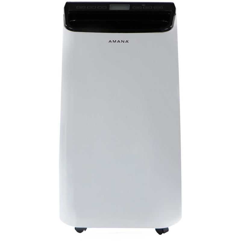 Amana White/Black 12,000 BTU Portable Air Conditioner w/Remote Control