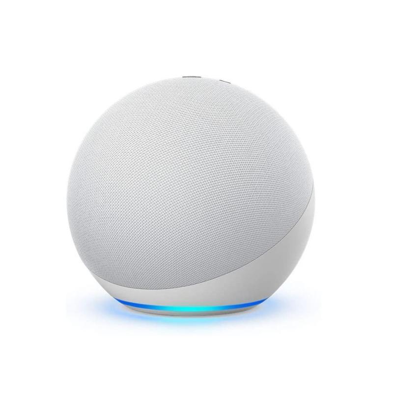 Amazon Echo Dot 4th Gen Smart Speaker - Glacier White