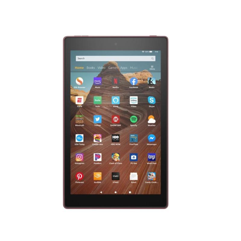 "Amazon Fire HD 10"" 32GB Alexa-Enabled Tablet in Plum"