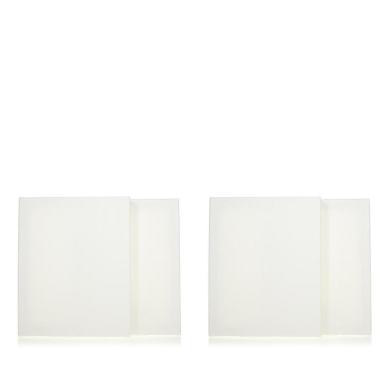 """American Crafts Color Pour Blank 8"""" x 10"""" Canvas 4-pack"""