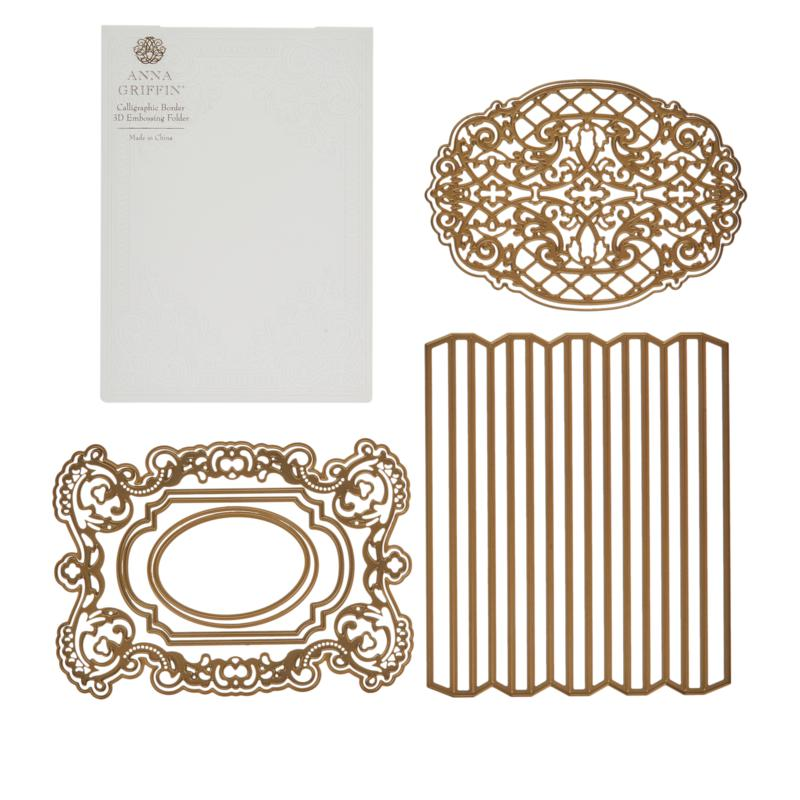 Anna Griffin® Album-Making Cutting Dies and Embossing Folder