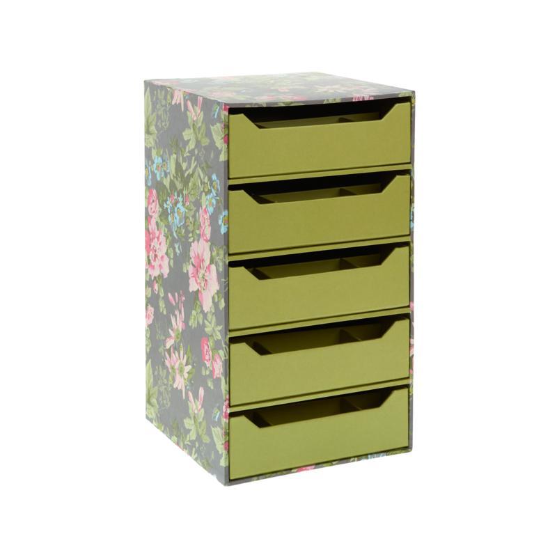 Anna Griffin Small 5 Drawer Storage, Anna Griffin Craft Room Furniture