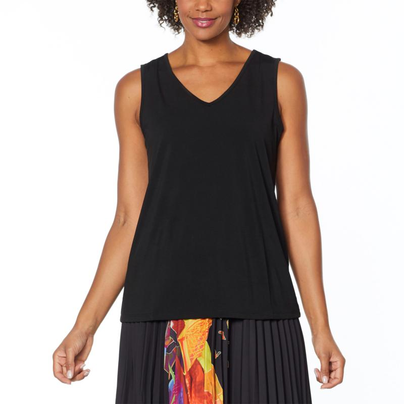 Antthony Holiday Luxe Easy V-Neck Tank