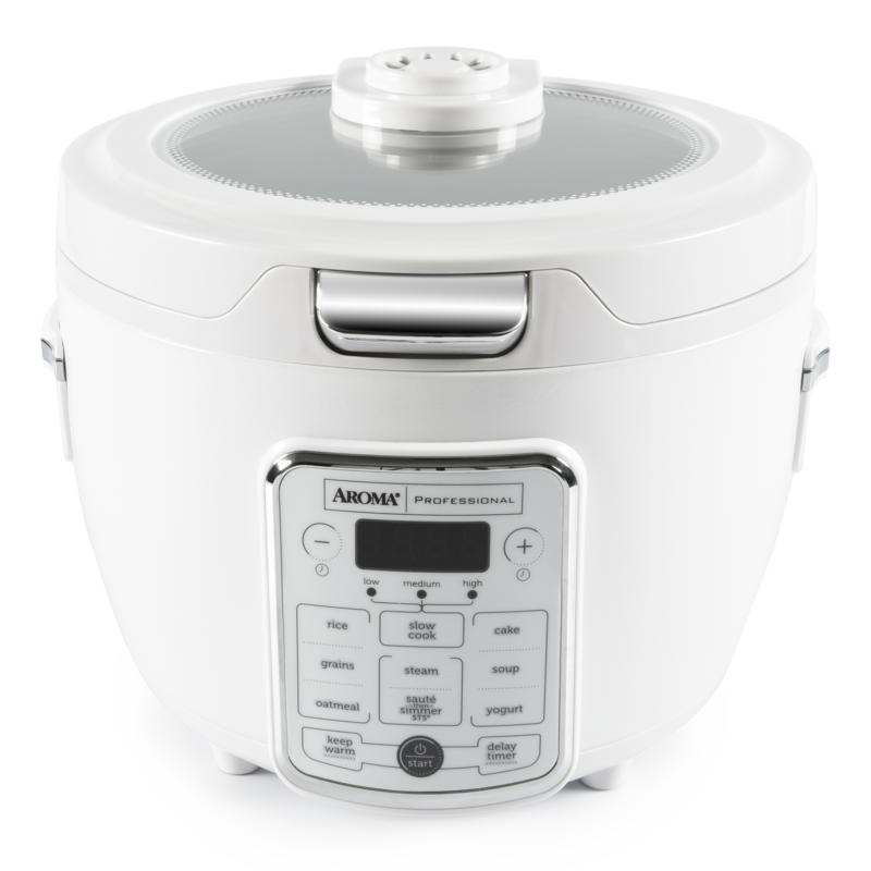 Aroma® Pro 20-Cup(cooked) / 4Qt. Digital Rice Cooker/Multicooker