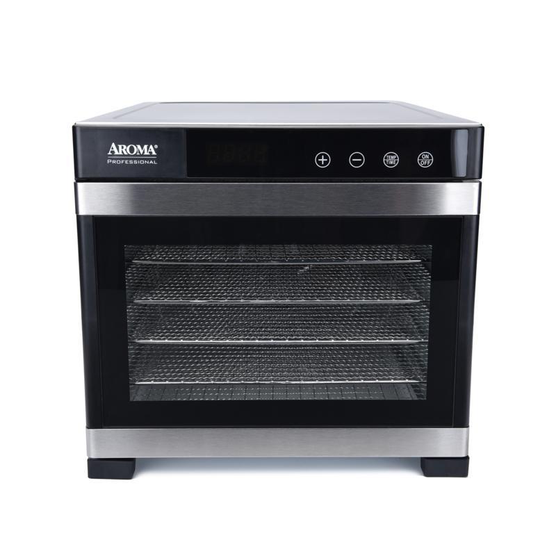 Aroma® Professional 6-Tray Digital Food Dehydrator (AFD-965SD)