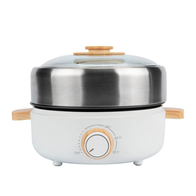 """""""As Is"""" Aroma 2.5-Liter Non-Stick Whatever Pot with Grill Plate"""