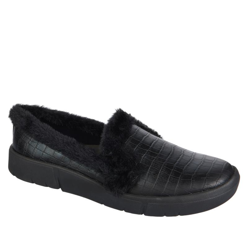 """As Is"" Baretraps® Becky Furry Transitional Slip-On Shoe"