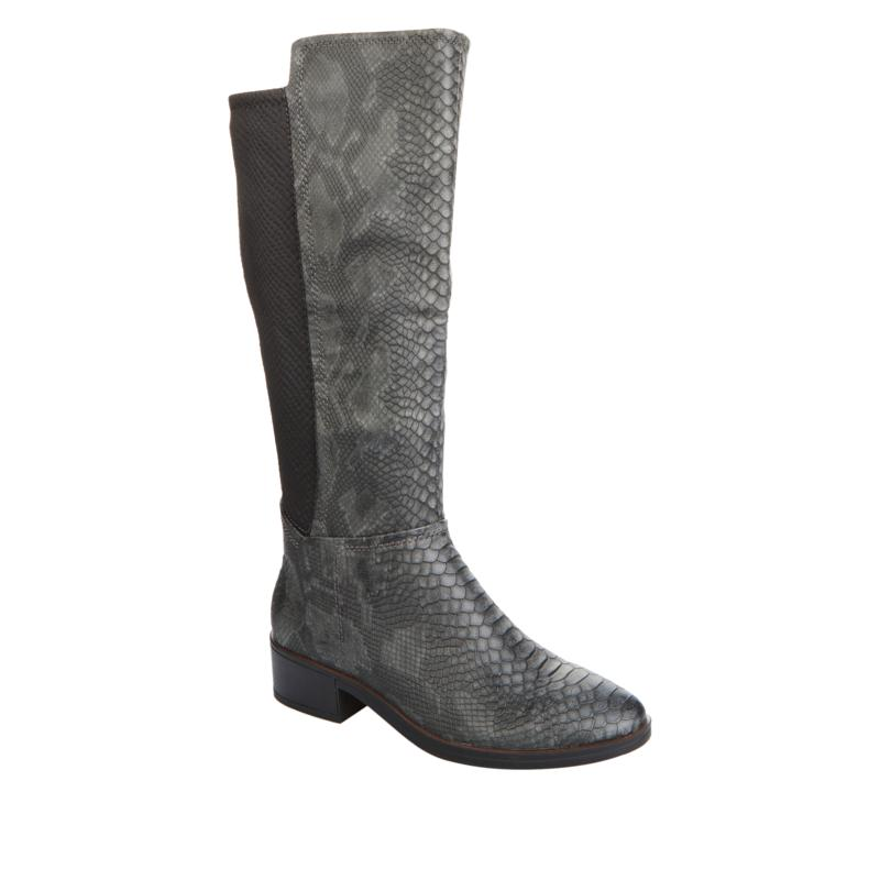 """""""As Is"""" Baretraps® Mallory Snake-Print Tall Riding Boot"""