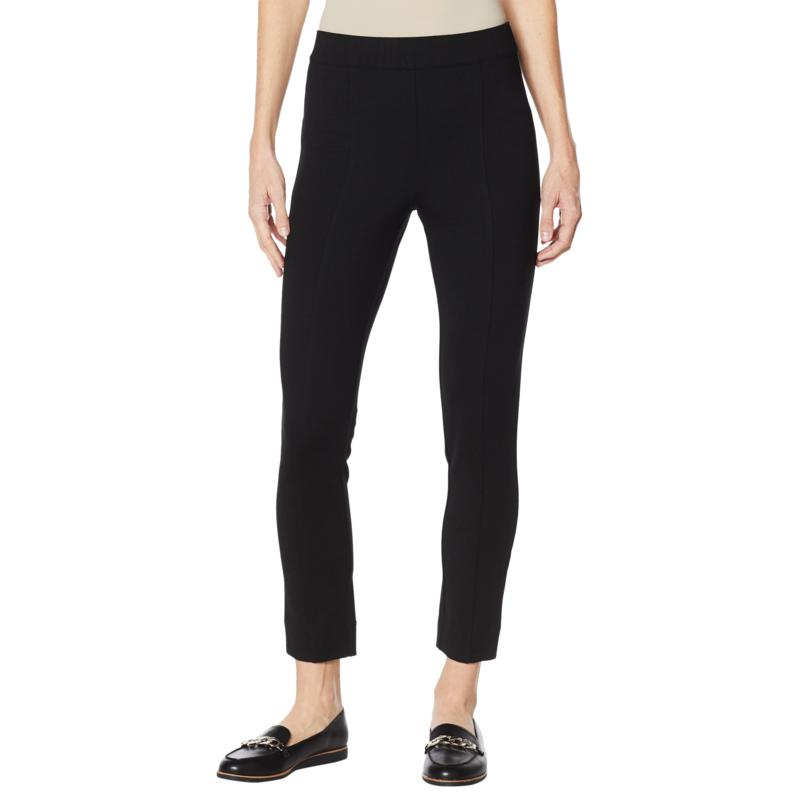 """As Is"" Colleen Lopez Skinny Ponte Pant with Power Mesh Panel"