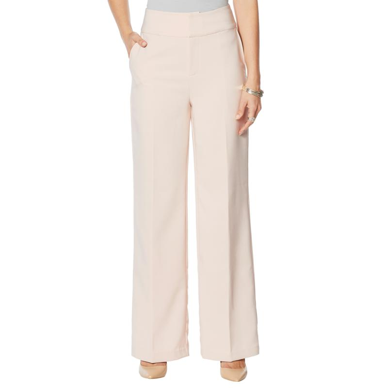 """""""As Is"""" G by Giuliana 12-Hour Stretch Wide-Leg Pant"""