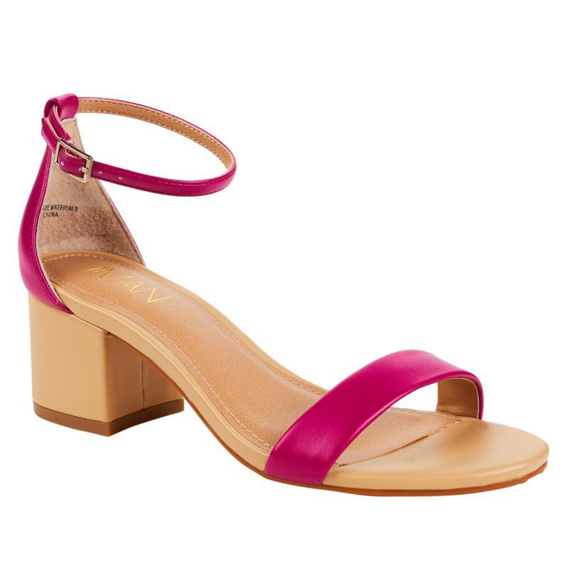 """As Is"" IMAN Boho Chic Colorblock Sandal"
