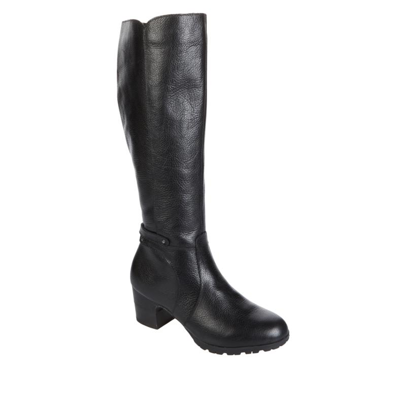 """As Is"" JBU by Jambu Chai Tall Leather Riding Boot - Regular Calf"