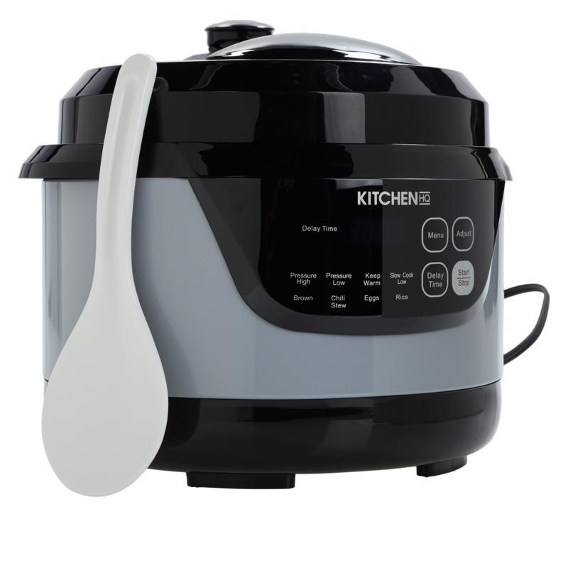 """As Is"" Kitchen HQ 2-Quart Digital Pressure Cooker"