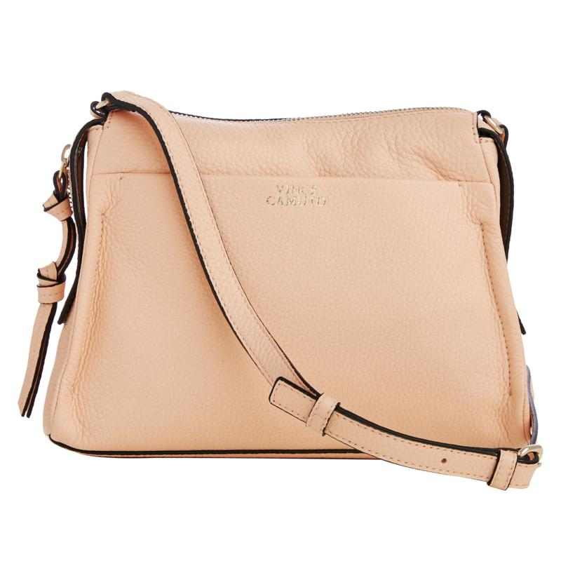 """""""As Is"""" Vince Camuto Coey Leather Crossbody"""