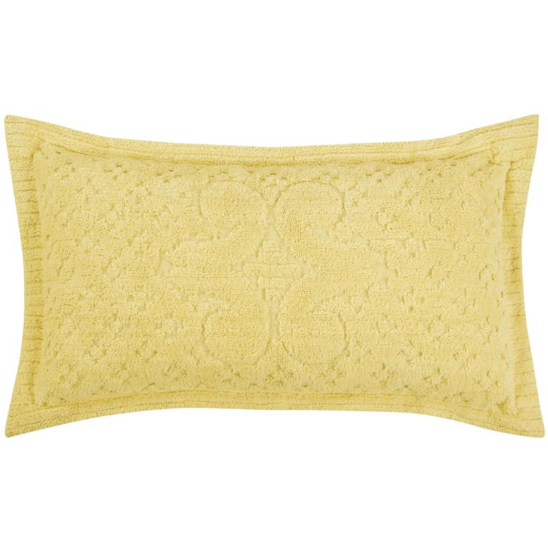 Ashton 100% Cotton Tufted Chenille Sham - King